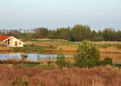 Haus am See im Wasser- und Landschaftspark