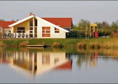 Haus am See Außenansicht