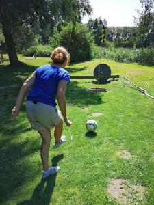 Fußball-Golf Urlaub im Haus am See