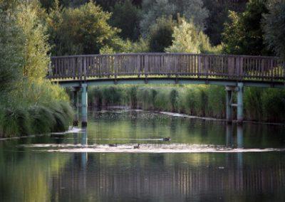 Brücke Urlaub im Haus am See