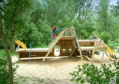 Abenteuerspielplatz Urlaub im Haus am See