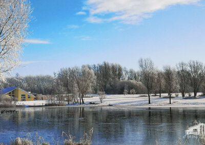 So sieht's im Winter aus...